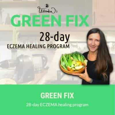 GREEN FIX 28-day ECZEMA healing program